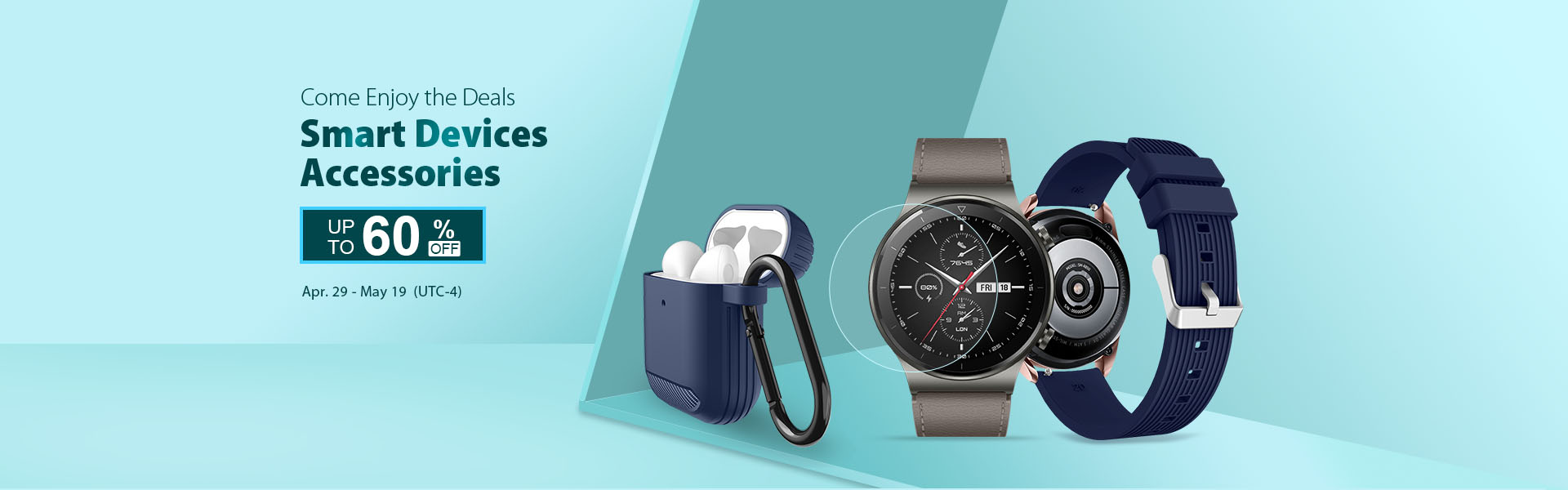 Up to 60% off on Smart Devices Accessories