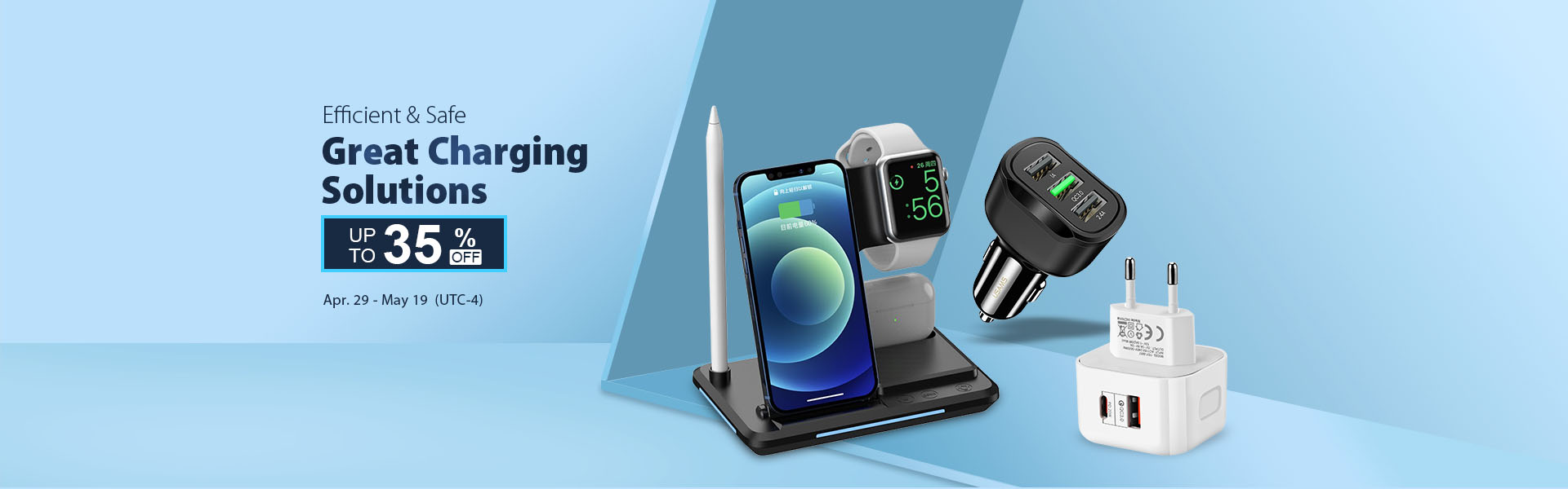 Up to 35% off on Great Charging Solutions