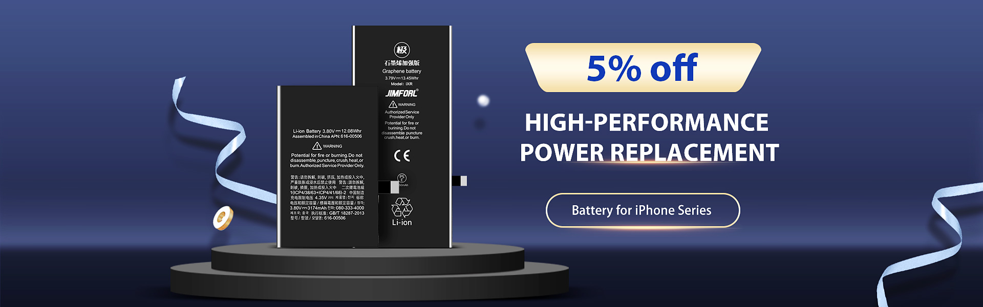 Quality Battery Spare for iPhone Series-TVC-Mall.com