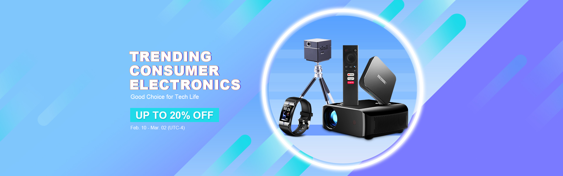 Trending Consumer Electronics Up to 20% off-TVC-Mall.com