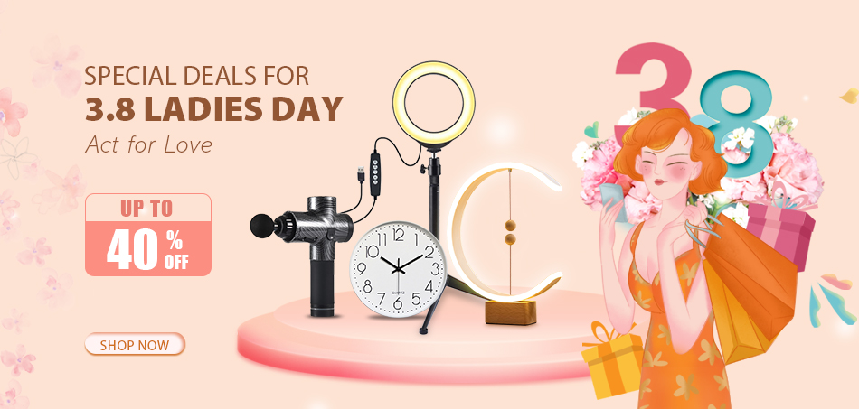 3.8 Ladies Day Special Deals