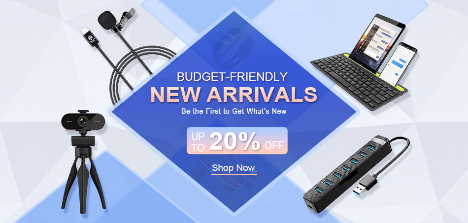 Budget-friendly New Arrivals