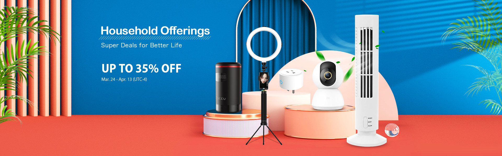 Household Offerings Up to 35% off-TVC-mall.com
